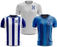 Özelleştirilmiş 21-22 Honduras Tayland Kalite Futbol Formaları 11 Castillo 6 Garcia 13 Maliyetli 2 Beckeles 9 Lozano 7 Izaguirre 17 Elis 10 Lopez Giyim