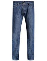 Männer Regular Fit mit geradem Bein Thermal Schwere Fleece-Futter Denim Jean