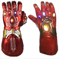 The Avengers 4 Endgame Thanos Led Infinity Gauntlet Disfraces Cosplay Infinity Stones War Led Gauntlet Guante Niños Adulto Tamaño