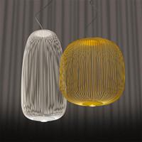 포스트 현대 foscarini 스포크 펜 던 트 조명 산업용 조류 케이지 등기구 다이닝 룸 거실 홈 장식 LED 매달려 램프