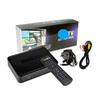 NEW TV BOX MAG250W1 Linux Set Top MAG 250 with Built-In WiFi WLAN HEVC H.265 Smart Media Player MAG250 Same as MAG322 MAG322W1