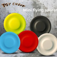 TOY CHEST 6. 5cm Mini Outdoor Sports Flying Saucer Outdoor De...