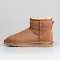 Дизайнерские женщины Австралия австралийские сапоги зимний снег пушистые атласные ботинки лодыжки купел меховые кожаные боуты на открытом воздухе обувь36-40