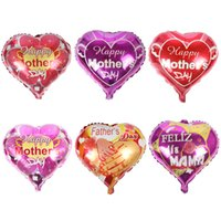 18- inch Heart- shaped Helium Balloon Aluminum Foil Air Balloo...