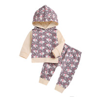 Toddler Baby Boys Girls Long Sleeve Animal Print Hooded Tops...