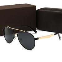 Louis Vuitton LV0925 Homens da forma / Mulheres Designer 2019 Óculos De Sol Da Marca de Luxo Óculos de Sol Com sinal de Metal óculos De Grandes Dimensões Óculos De Sol