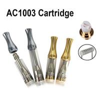 Ac1003 картридж 0.5 мл 1.0 мл серебро золото металл капельного наконечника Pyrex стеклянная трубка бак горизонтальная керамическая катушка 510 картриджи испаритель DHL