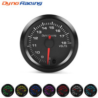 "Dynoracing 2"" 52mm 7 Colors LED Car Auto Voltmeter 8- 18..."