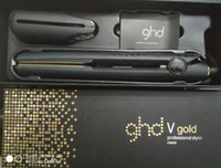 V Altın Max Saç Düzleştirici Klasik Profesyonel Styler Hızlı Saç Düzleştiriciler Demir Saç Şekillendirici Aracı Kaliteli DHL Ücretsiz