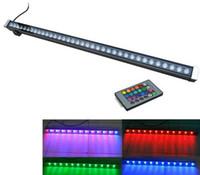 LED Wandfluter RGB 12W 18W 24W 30W 36W Wandfluter LED Lampe Fluter Färbelampe Stablampen LED Fluter Landschaftsbeleuchtung LLFA