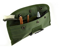 New10 قطع بندقية بندقية بندقية تنظيف فرشاة كيت فيت الحقيبة ل 22LR 223 556 بندقية بندقية