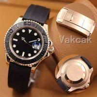 탑 시계 세라믹 베젤 요트 41mm 자동 이동 고급 기계 남성 스테인레스 스틸 시계 MASTER 손목 시계