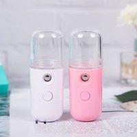 Spray dispositivo USB portatile Idratante Spray Mini pratica Nano spruzzo, USB ricaricabile Mini strumento di bellezza EEA1685