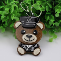 Little bears compact mirror keychain for boys&girls lovely d...