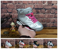 High Quality Kids 6 6s Black Infrared 3M Reflect Carmine UNC...