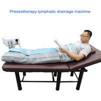 massaggio drenante disintossicante macchina tuta presso terapia linfatica pressione dell'aria con camera dispositivo drenaggio linfatico vendita calda