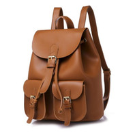 Brand Backpack Style PU Leather Hig Fashion Designer Backpac...