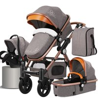 Luxus-Kinderwagen 3 in 1 Größere Version Kinderwagen 2 in 1 Autositz Travel Systems EU Tax Free Delivery
