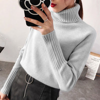 Women Sweater Female Autumn Winter Warm Cashmere Knitted Wom...