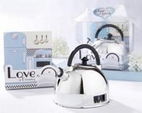 """""""Love is Brewing"""" Temporizador de tetera con paquete de cajas Regalo de boda Favor de fiesta SN2088"""
