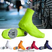 New Dustproof ciclismo capas de sapatos à prova de vento impermeável bicicleta Protector Overshoes bicicleta Calçados Capa 2019
