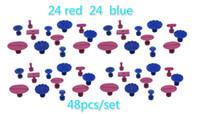 48pcs / lot 접착제 탭 판매 Paintless 덴트 제거 도구 세트 좋은 품질과 저렴한 가격