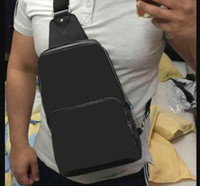 vera pelle sacchetto della cassa Uomini AV. TRACOLLINA D.GRAP. borsa da viaggio N41719 del corpo del Mens trasversale sacchetto spalla al seno N41612 N41473 41473 N41712 AVENUE