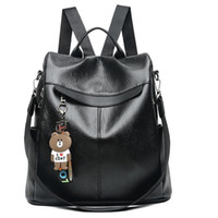 Backpack new female backpacks spring and summer students fas...