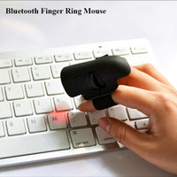 Inteligente Bluetooth Wearable Mouse Sem Fio Dedo 3D Ratos gaming Ring Finger Ratos Para Laptop / PC / Tablets Suporte Windows / IOS / dispositivo Android