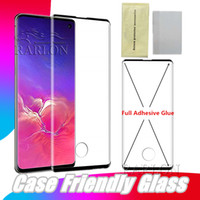 Premium Full Adhesive Tempered Glass For Samsung S10 E S9 S8...