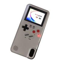Console per videogiochi portatili Cover a colori per videogiochi Custodia per console di gioco classica retrò in grado di memorizzare 36 giochi Per iphone 678 XR XS Max