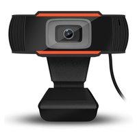 Fotocamera PC USB 2.0 1280x720 Record video HD webcam webcamere web con microfono per computer portatile Skype