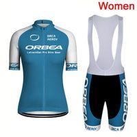 جديد وصول الموالية orbea الصيف الدراجات جيرسي مجموعة الدراجة الجبلية الملابس النساء دراجة الملابس ارتداء تنفس ropa ciclismo الرياضية Y08073