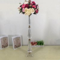 "New design Vases 78 CM  30. 7"" Tall Acrylic Table Vase W..."
