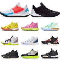 Nike Kyrie 5 basket Bianco Nero Multi color oro metallizzato avere un giorno Mamba mentalità dimensioni scarpe da tennis di sport atletici 7-12