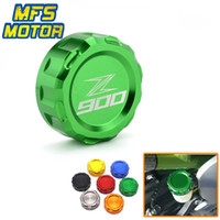 Motorcycle Accessories CNC Aluminum Rear Brake Reservoir Cap...