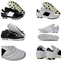 white mens soccer cleats Copa Mundial FG soccer shoes world ...