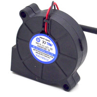 EVERCOOL EC5015HH12E-B 12V 0.18A 5CM 5015 50 * 50 * 10MM Ventilateur d'humidification authentique 2Lines 2Lines ventilateur de refroidissement 5CM