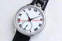 LUC usine L.U.C 161923-1001 Montre de poche montre suisse EHG à remontage manuel spécial mécanique 316L boîtier en acier saphir Bracelet en cuir