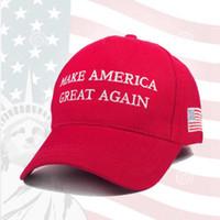 Una vez más hacer de Estados Unidos Gran Sombrero Donald Trump Snapback de las gorras de béisbol Deportes EE.UU. Bandera Hombres Mujeres cápsula de la manera ZZA1716