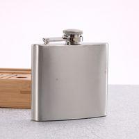 Tasca dell'acciaio inossidabile Mini Fiaschetta Alcol Whisky Liquore del coperchio a vite 4/10/18 OZ liquore Hip Boccette all'aperto bottiglie di vino portatile VF1322 T03