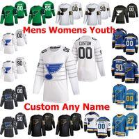 St. Louis Blues 2020 All-Star Hockey maglie 6 Marco Scandella 91 Vladimir Tarasenko Ryan O'Reilly Binnington Colton Parayko personalizzato cucito