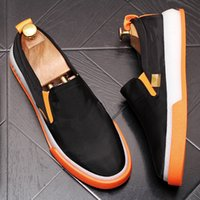 Handsome Men' s Casual Shoes Rock & Roll New summer zapa...