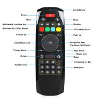 Gyroscope Fly Air Mouse C120 Bezprzewodowa gra Klawiatura Android Remote Controller Klawiatura do Smart TV MINI PC