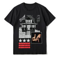 Известные Мужские футболки Мужчины Женщины Hip Hop Летняя футболка Crew Neck 3D Printed Стилист с коротким рукавом Тис Размер S-XXL