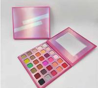 2019 nouvelle marque de maquillage 30 couleurs EYESHADOW Palettes J x M Palettes Coopère Maquillage Shimmer et mat palette fard à paupières.