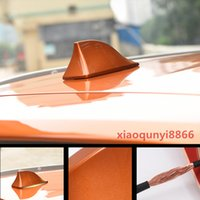ABS Roof Shark Fin Antenna Cover Radio Cover Trim Fit For Ni...