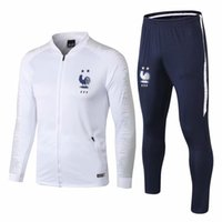 18 19 Soccer Tracksuit Football Jacket Zipper Jacket French ...