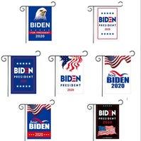 Flagpole Amerika bayrağı LJJK2103 olmadan 30 * 45cm Biden Açık Yard Bayrak Dekorasyon Destekleme 2020 Biden Başkanı Bayrak Bahçe