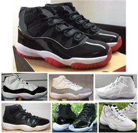 Real Carbon Fiber 11 11s New Bred Concord 45 Metallic Silver...
